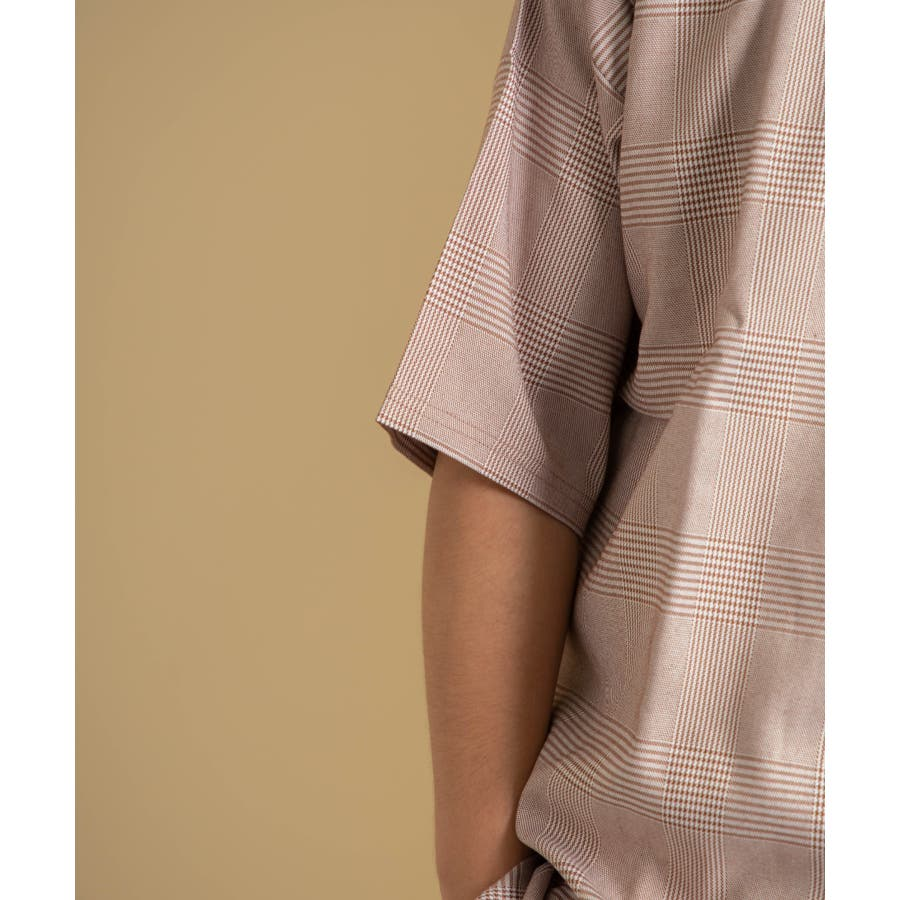 NYLAUS 2点セット ストレッチ プルオーバー オーバーシャツ/ビッグタンクトップ 5