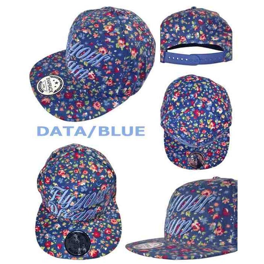 コーデュロイキャップthcap002【全2色】【BLUE/BROWN】【小花柄】【ベースボールキャップ】【秋冬コーデ】【数量限定】【オクトパスアーミー】 2