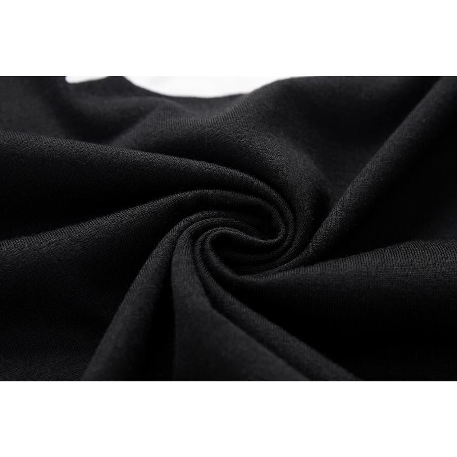 tシャツ レディース 半袖 カットソー ロゴt プリント 大人 おしゃれ かっこいい かわいい 春 夏 白 黒 ホワイト ブラック 9