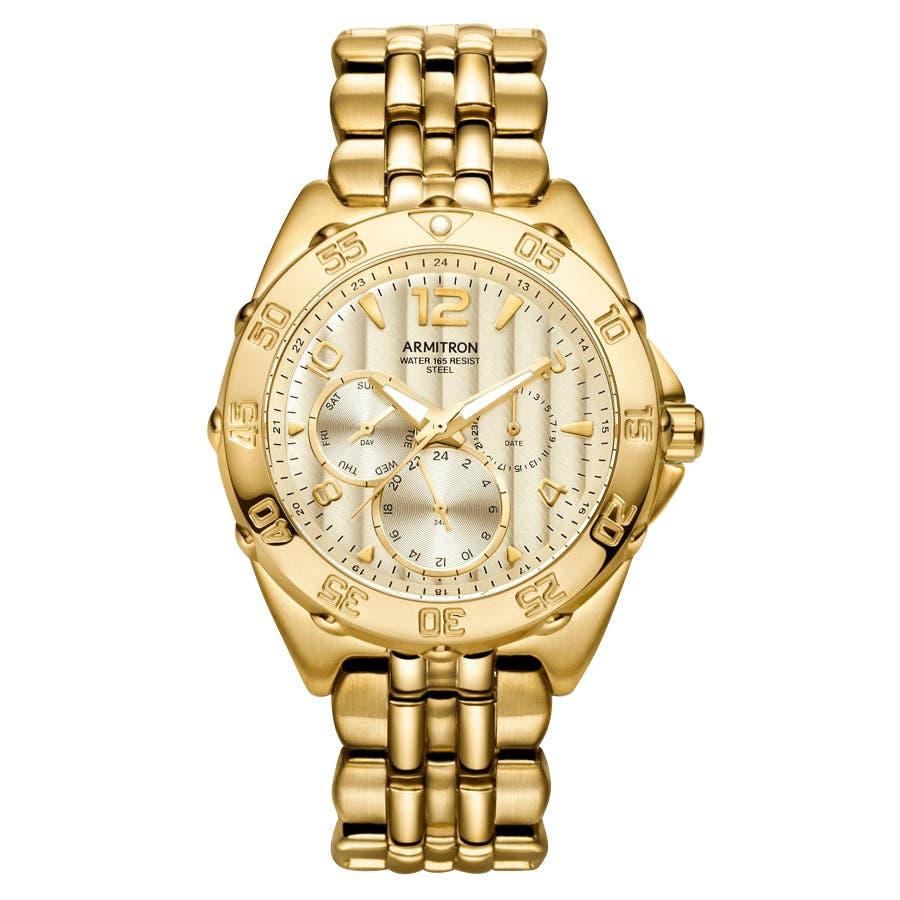 ARMITRON 腕時計 アナログ 多機能ブレスレットウォッチ 105