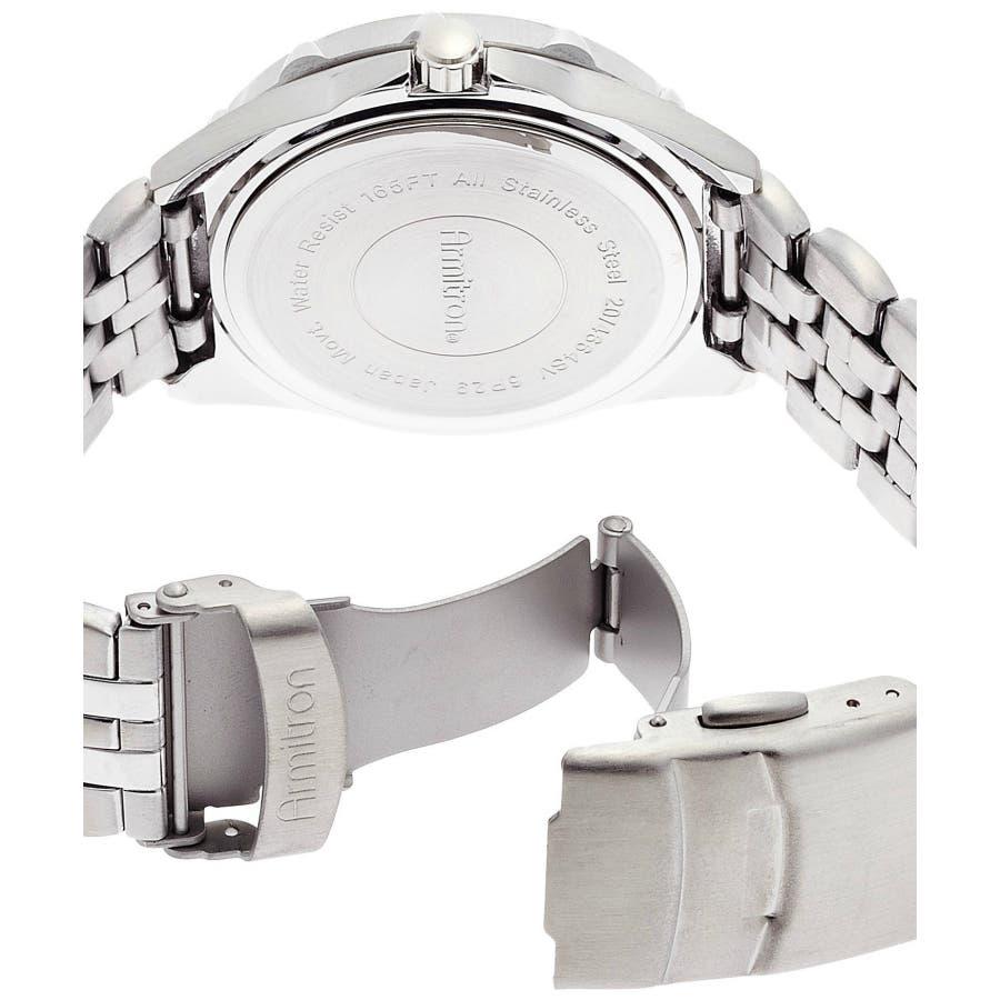 ARMITRON 腕時計 アナログ 多機能ブレスレットウォッチ 4