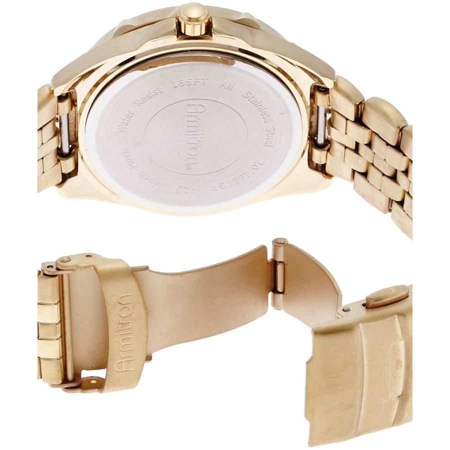 ARMITRON 腕時計 アナログ 多機能ブレスレットウォッチ 6