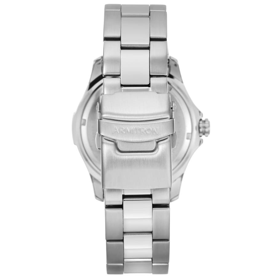 ARMITRON 腕時計 アナログ 多機能ウォッチ ステンレス 4