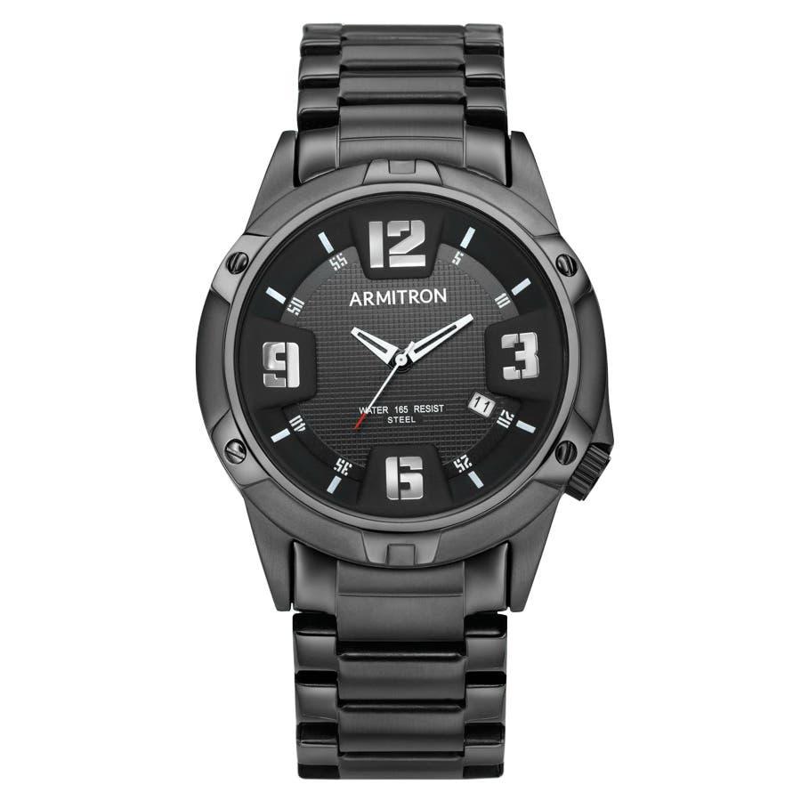 ARMITRON 腕時計 アナログ ブレスレットウォッチ ステンレス 21