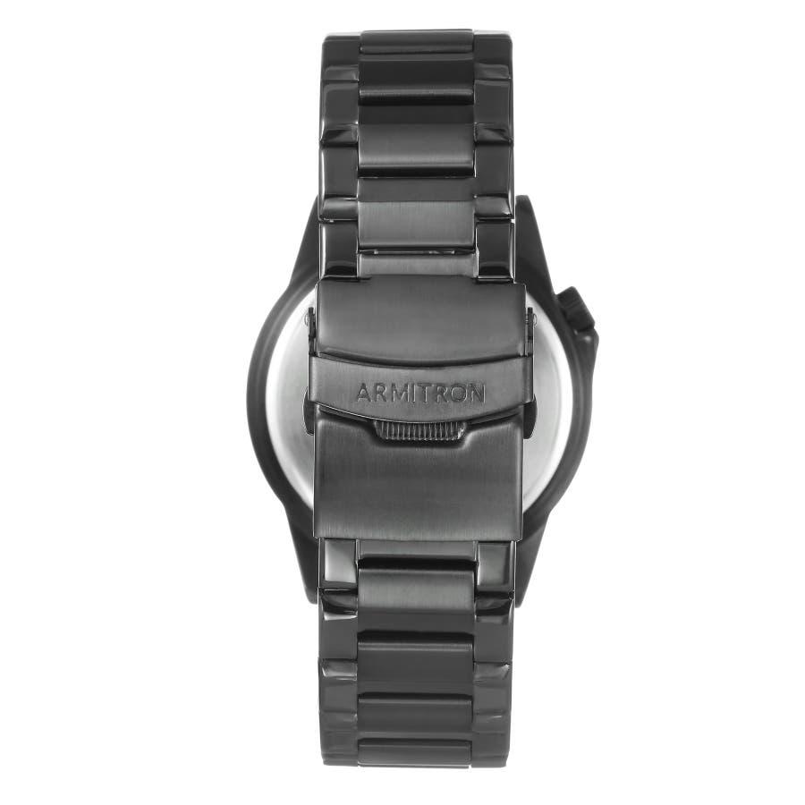 ARMITRON 腕時計 アナログ ブレスレットウォッチ ステンレス 3