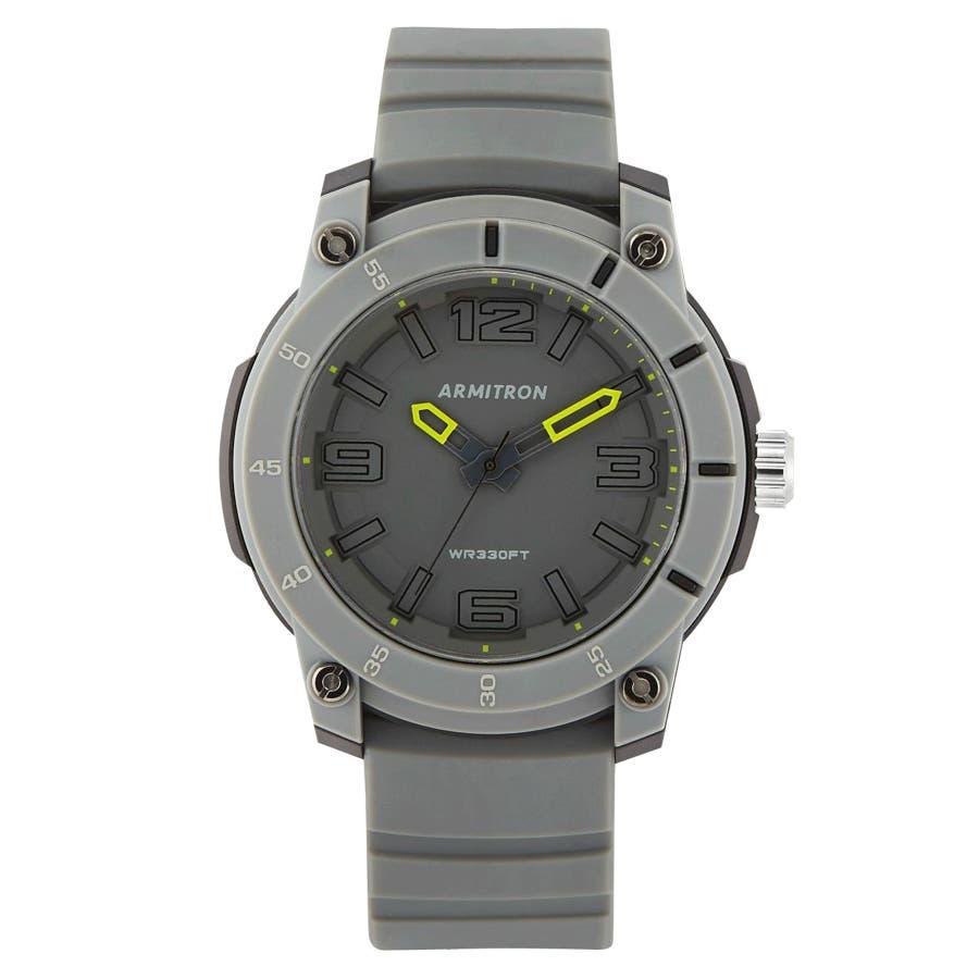 ARMITRON 腕時計 アナログスポーツウォッチ シリコンバンド 23