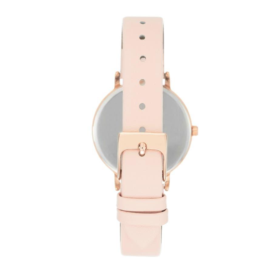 ARMITRON 腕時計 レディース アナログ ブラッシュレザーウォッチ 2