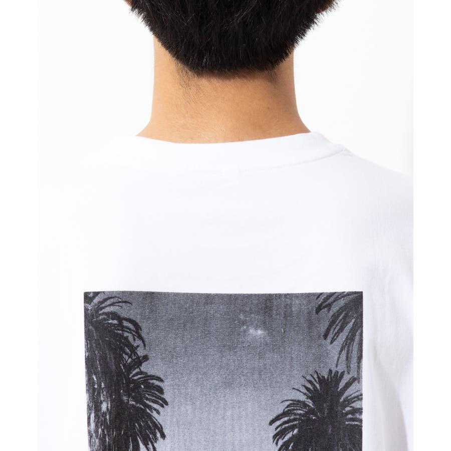 【LEVENDIS(レベンディス)】バックプリント ドロップショルダー Tシャツ ロゴ付き(ユニセックス) 7