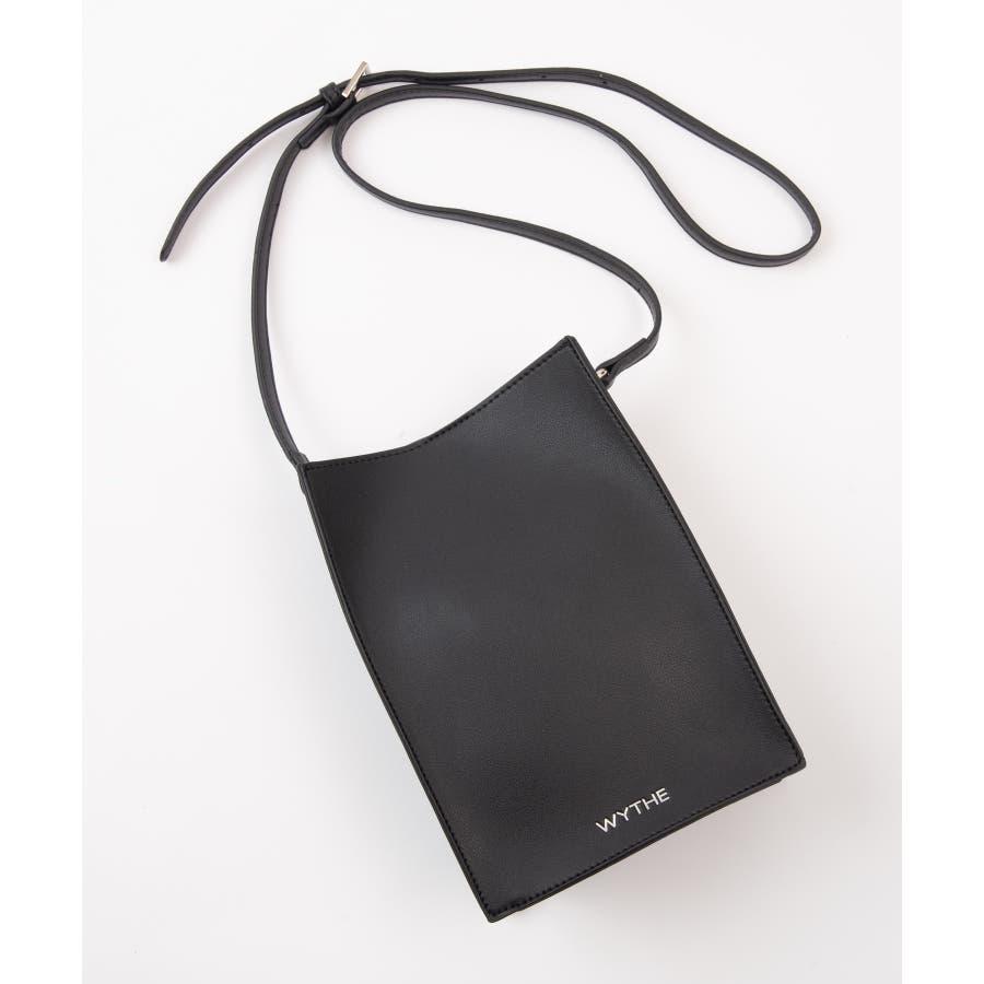 【WYTHE】スクエアバック 内ポケット付(ストラップ調整可) 21