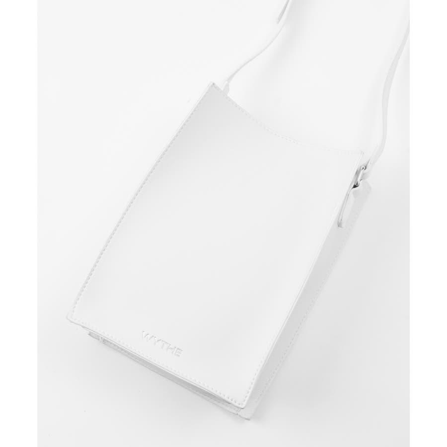 【WYTHE】スクエアバック 内ポケット付(ストラップ調整可) 9