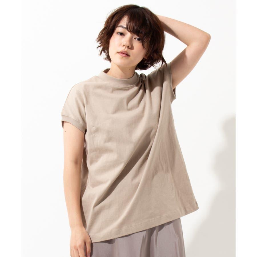 【WYTHE】モックネック Tシャツ 24