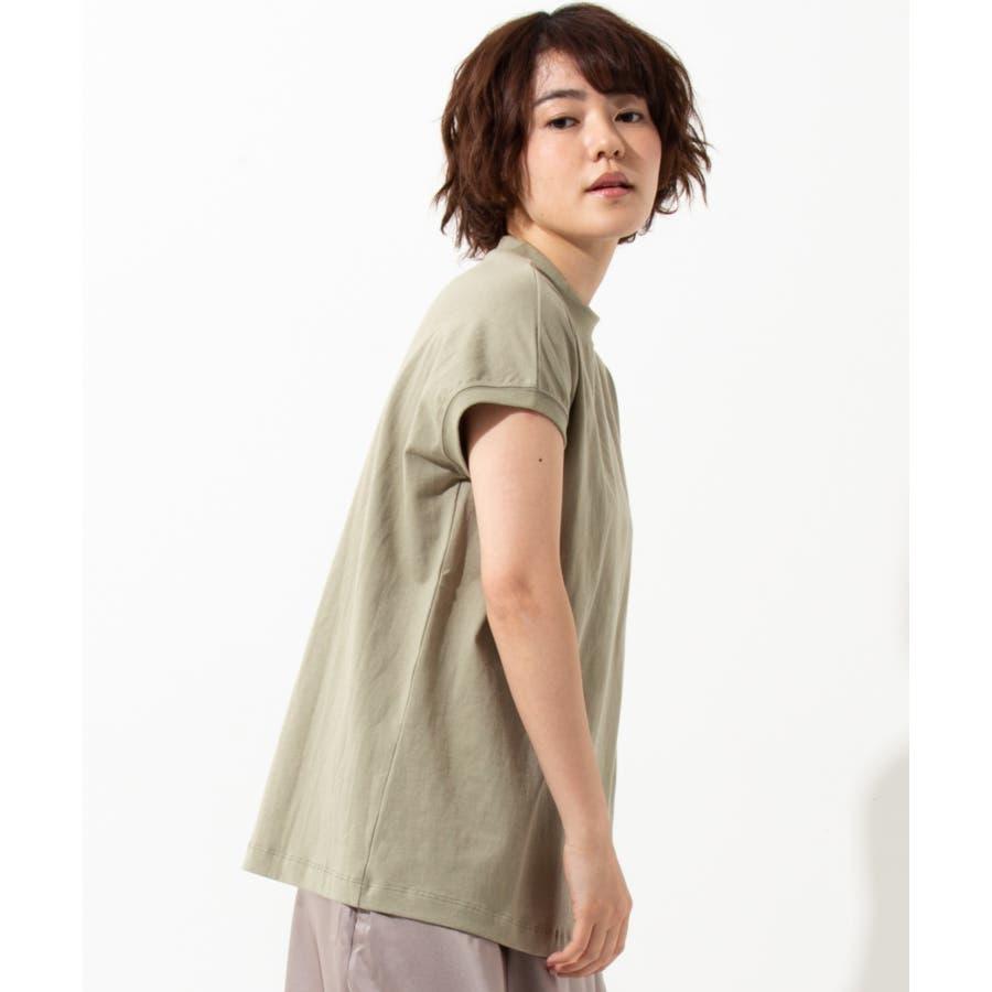 【WYTHE】モックネック Tシャツ 53