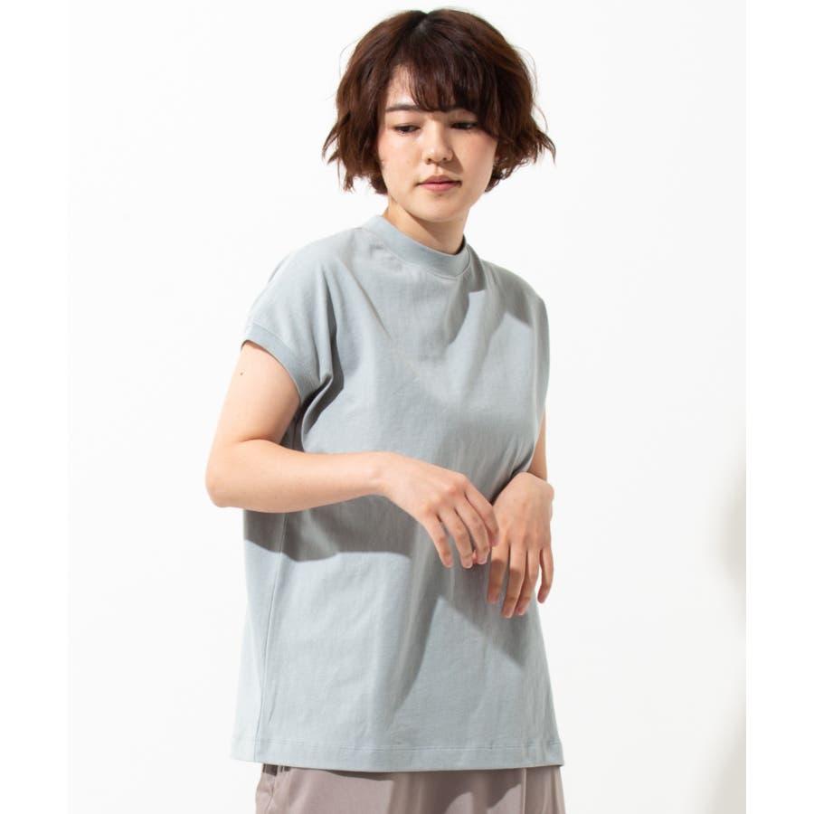【WYTHE】モックネック Tシャツ 59