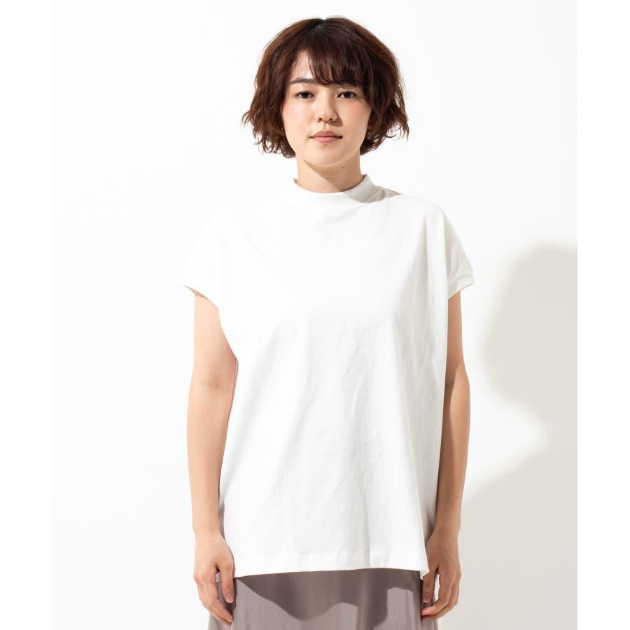 【WYTHE】モックネック Tシャツ 3