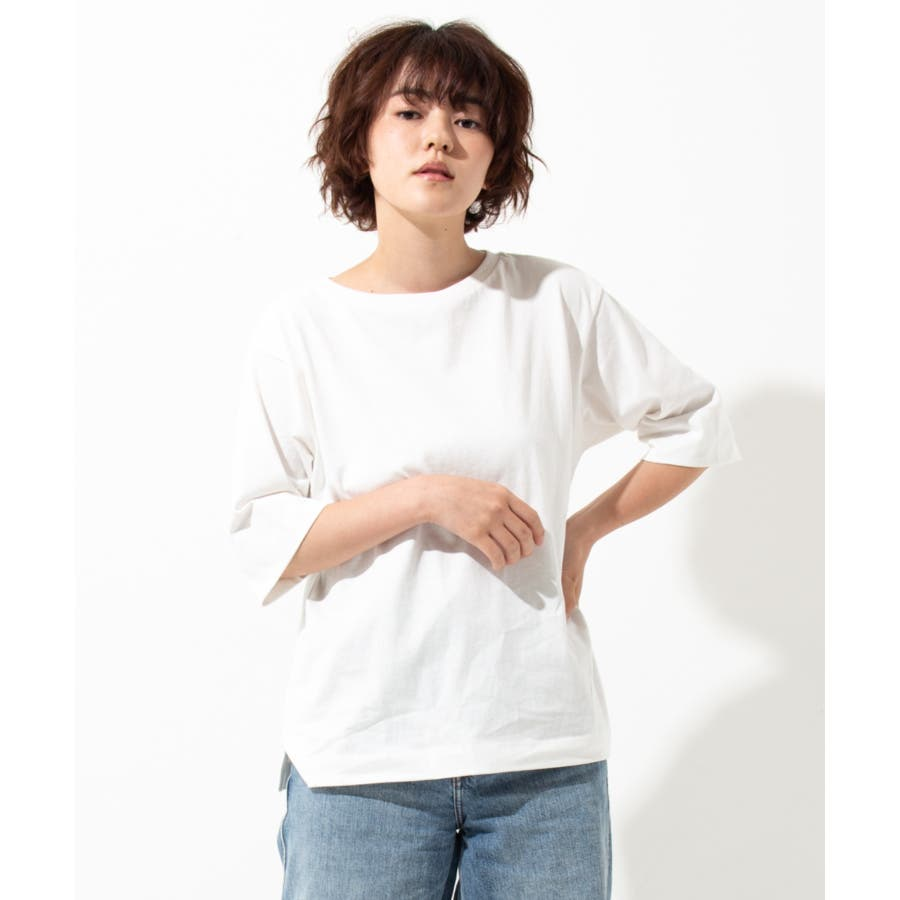 【WYTHE】 ボートネック Tシャツ 16