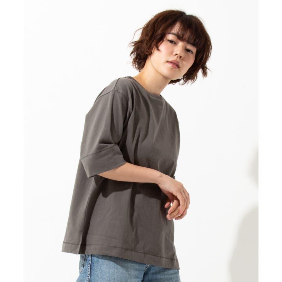 【WYTHE】 ボートネック Tシャツ 26