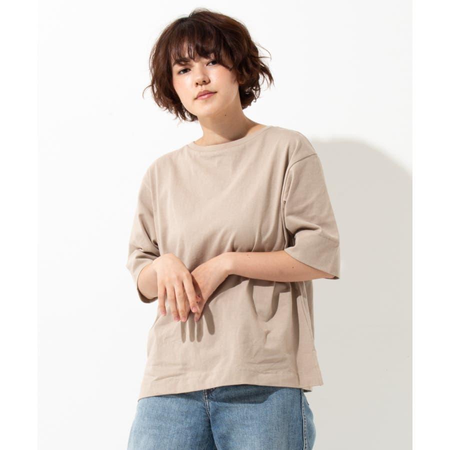 【WYTHE】 ボートネック Tシャツ 24
