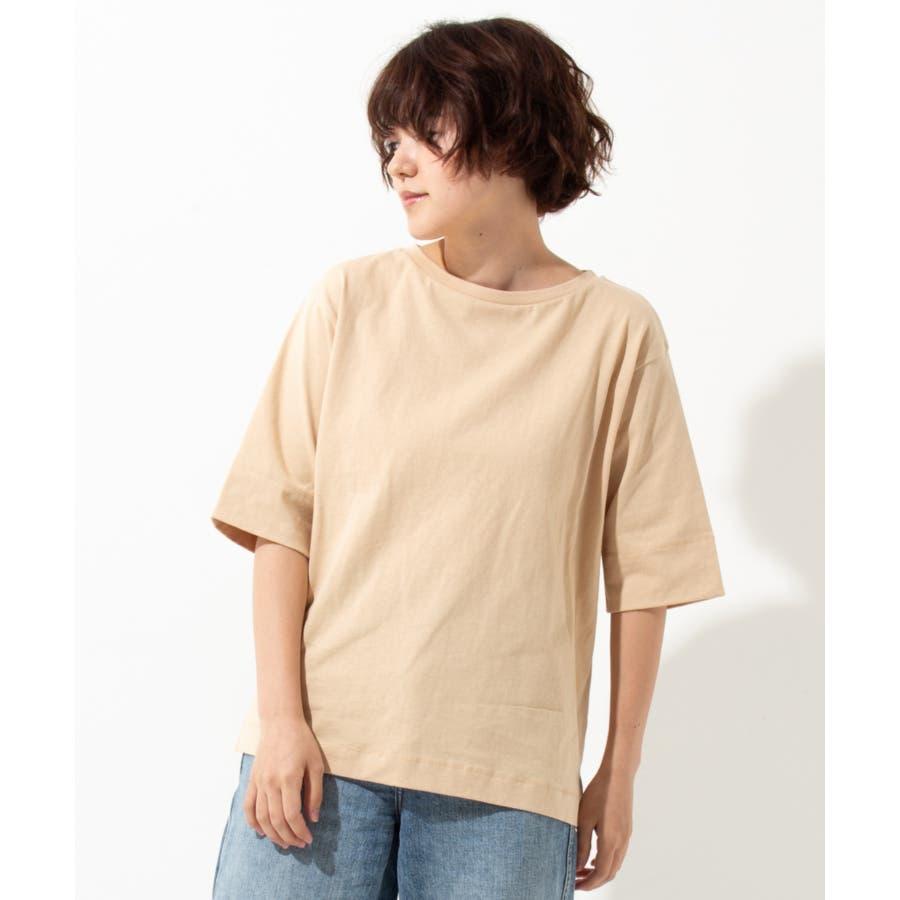 【WYTHE】 ボートネック Tシャツ 41