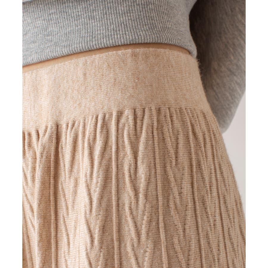 春先まで着られる♪ニットスカート 4
