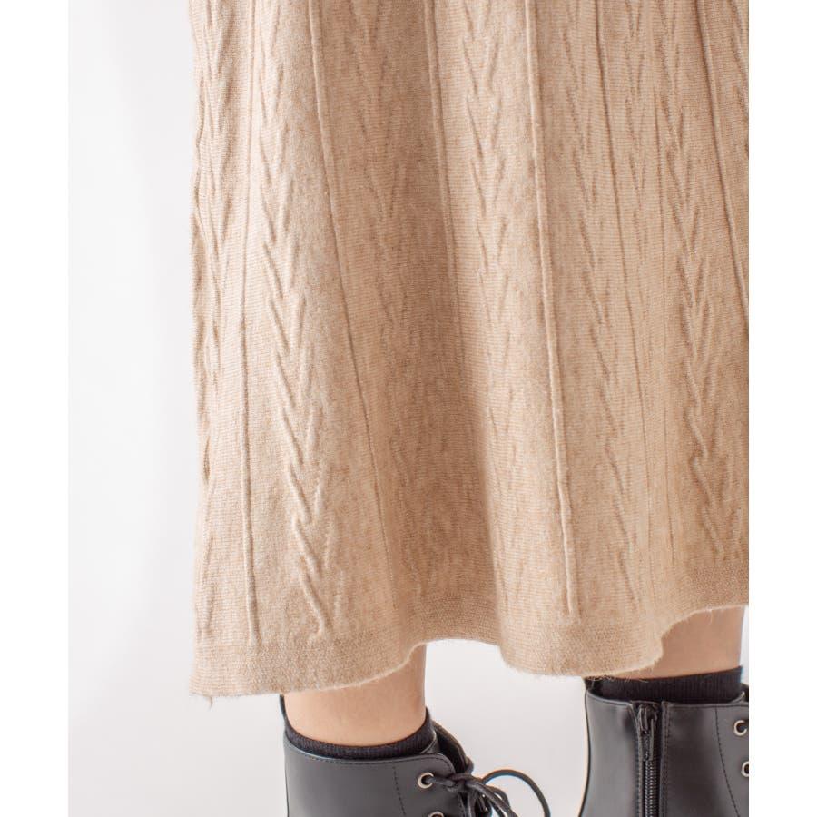 春先まで着られる♪ニットスカート 5