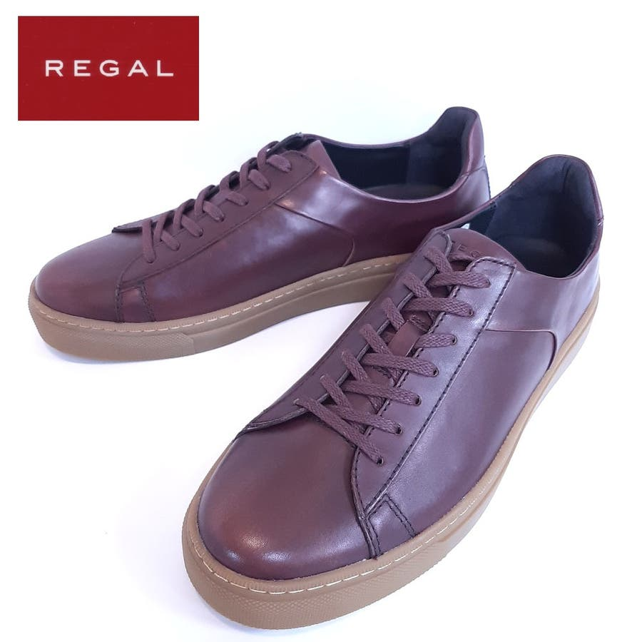 REGAL リーガル 53NR メンズ カジュアルシューズ 防水 レザースニーカー ゴアテックス 革靴 【メンズ】 1