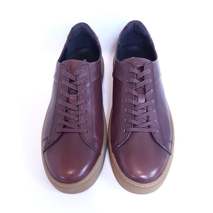 REGAL リーガル 53NR メンズ カジュアルシューズ 防水 レザースニーカー ゴアテックス 革靴 【メンズ】 2