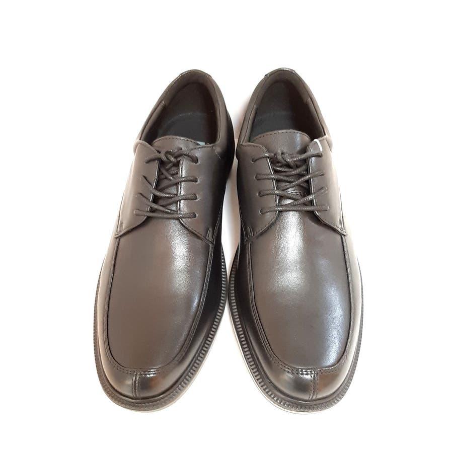 Dr.ASSY ドクターアッシー DR-1010 ビジネスシューズ 革靴 軽量 4E 幅広 撥水 本革 【メンズ】 2
