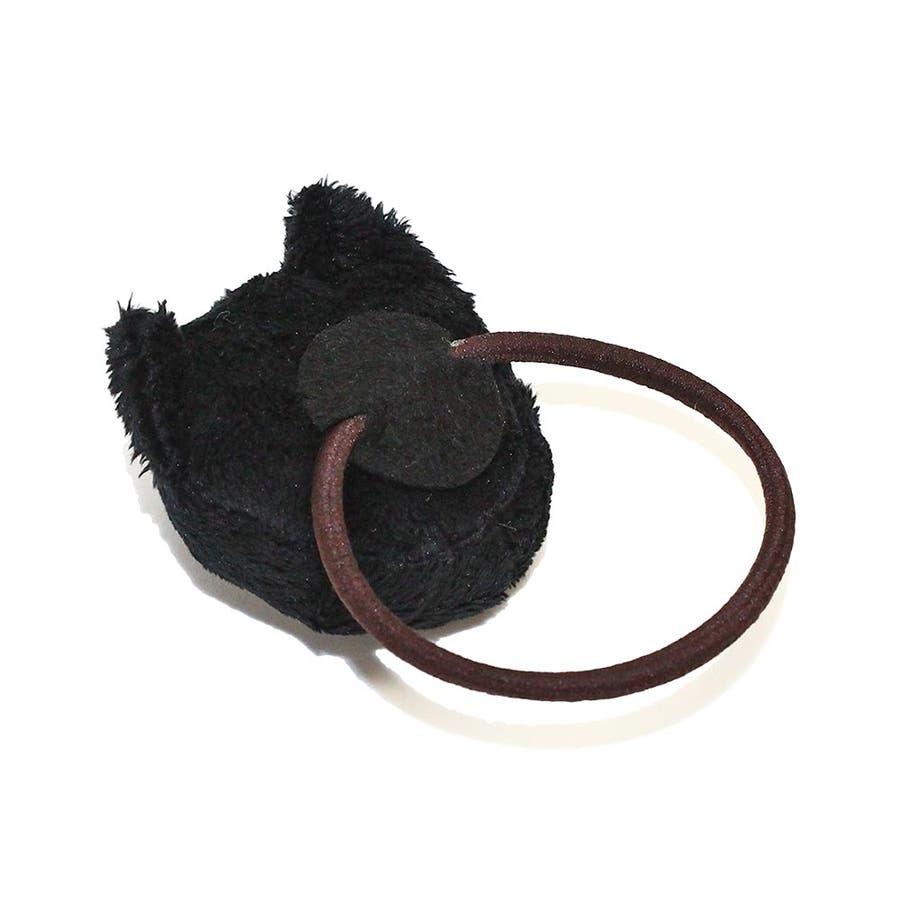 ヘアゴム 目つきの悪いネコ ぬいぐるみ ヘアポニー[お世話や][osewaya] 5