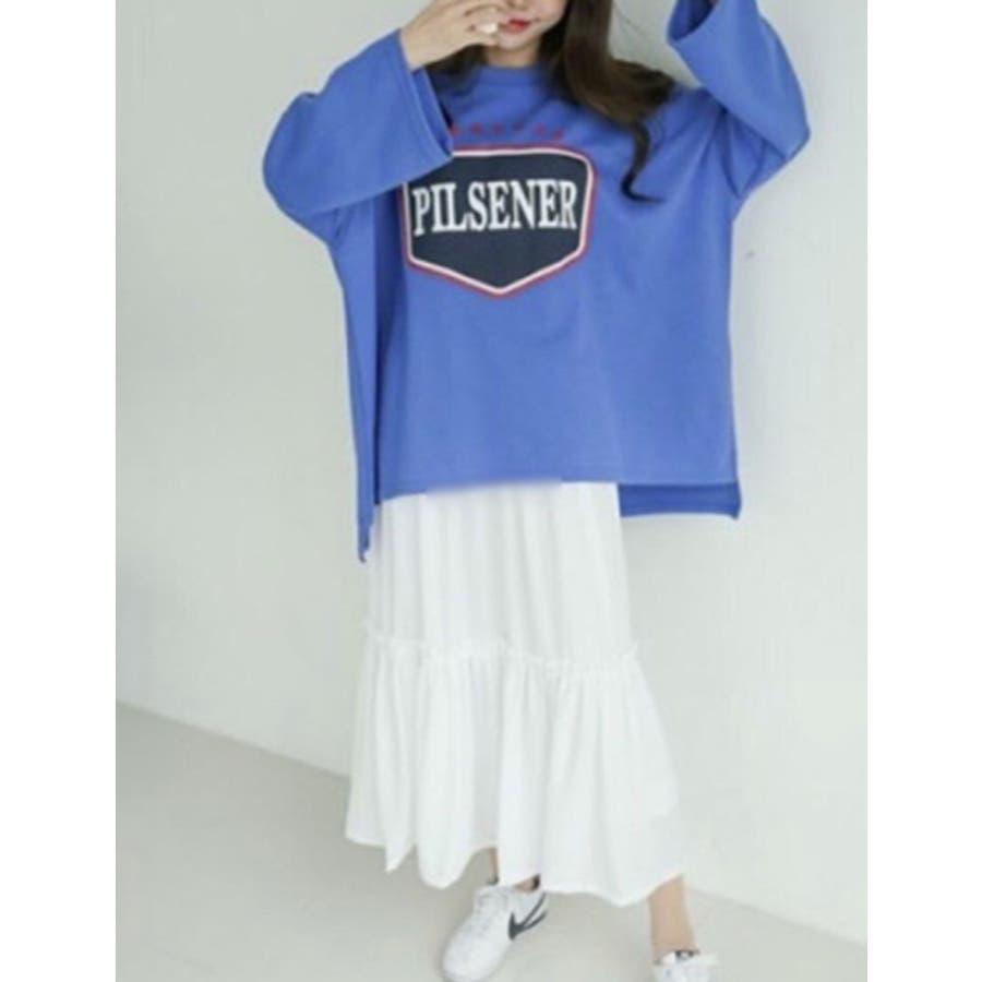 ティアード異素材キャミソールワンピース レディース トップス ロング マキシ インナーワンピース 大きめ ゆったり ペチコート 無地レイヤード 重ね着 ノースリーブ フレア フリル シフォン きれいめ 可愛い 韓国ファッション 5
