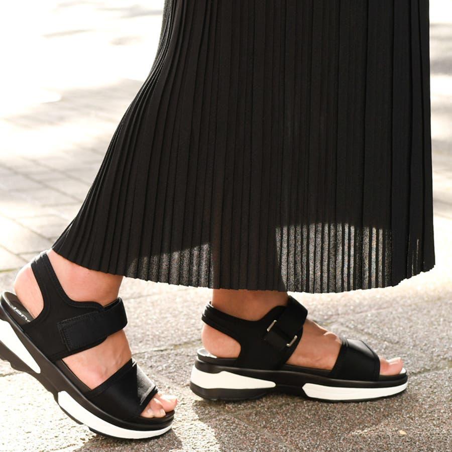 ジョーゼットプリーツタイトスカート レディース ボトムス 夏 ロング ミモレ マキシ ゆったり Iライン フレア ウエストゴムきれいめ 上品 無地 シンプル カジュアル 可愛い デイリー 着回し 膝下 大人 韓国ファッション 4