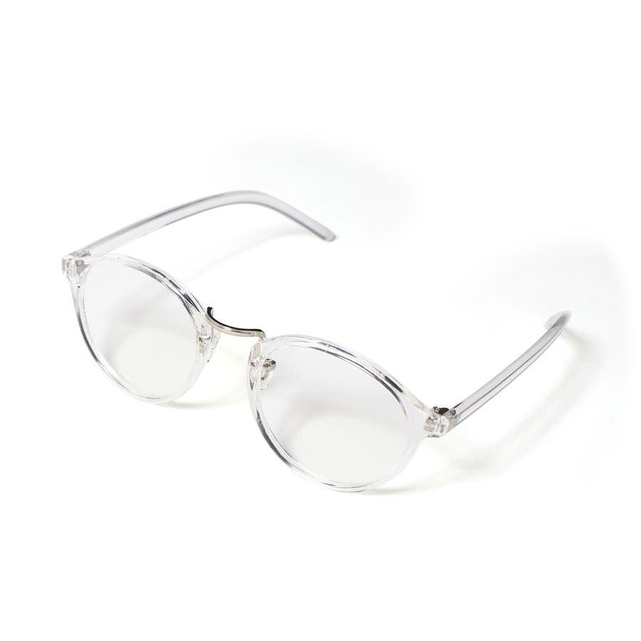 選べる3デザイン★クリアフレーム伊達メガネ レディース メンズ 眼鏡 めがね 大きめ アクセサリー ダテ 丸型 サングラス ボストンティアドロップ ウェリントン 紫外線対策 夏 おしゃれ シンプル 可愛い 韓国ファッション 16