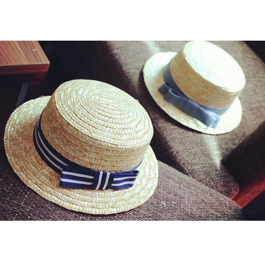 a2d729e44159d リボンキッズ帽子子供用キッズベビー幼児麦わら帽子キッズ帽子ぼうしポンポンハットカンカン