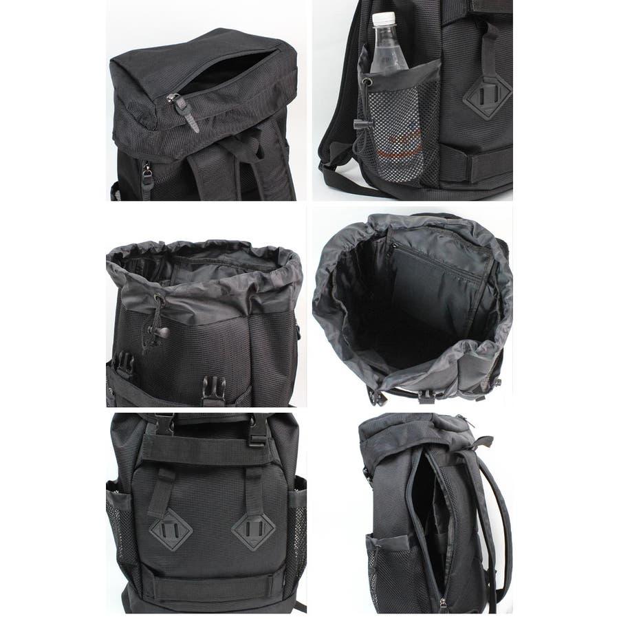 76536790c8f5 スターターSTARTERバックパックナイロンリュックリュックサックカバン鞄黒ブラックグレー青ブルーネイビー
