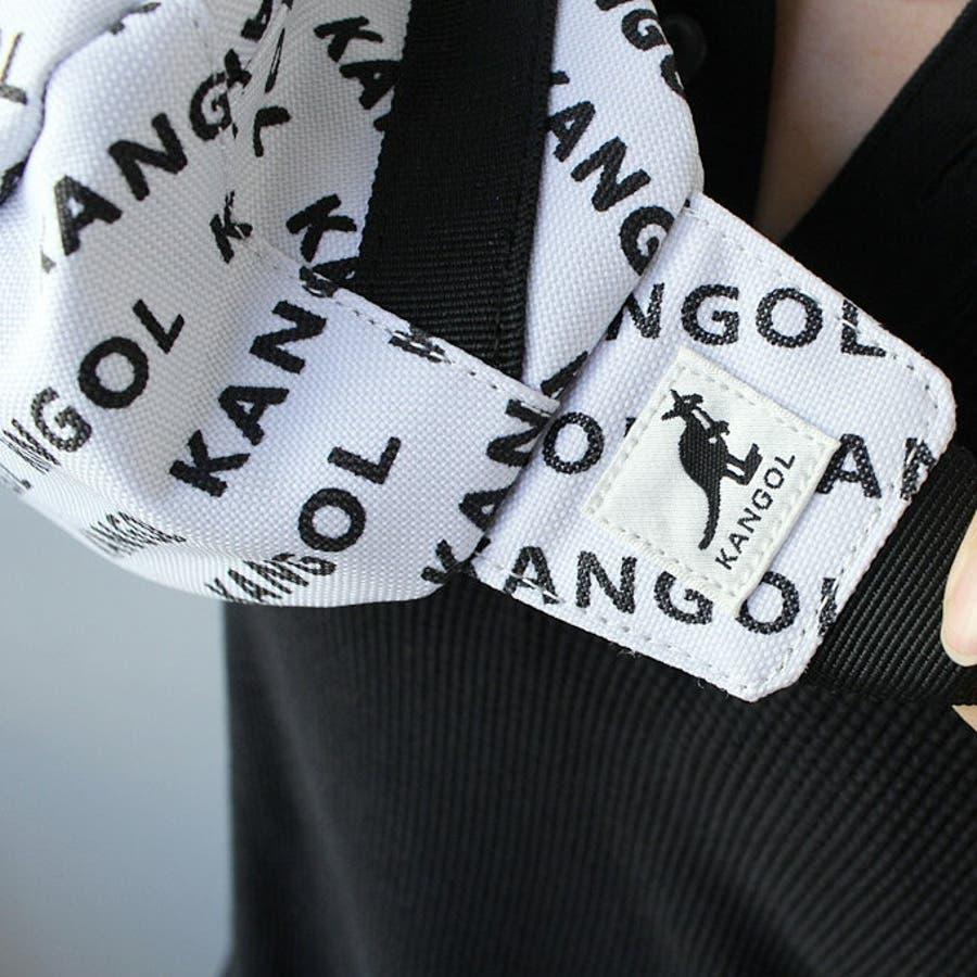 KANGOL / カンゴール 総柄 ウエストバッグ ポーチ ユニセックス かっこいい おしゃれ 人気 安い ブランド ootdoutfit kawaii メンズライク ボーイズライク 通勤 通学 フェス アウトドア スポーツMIX 6