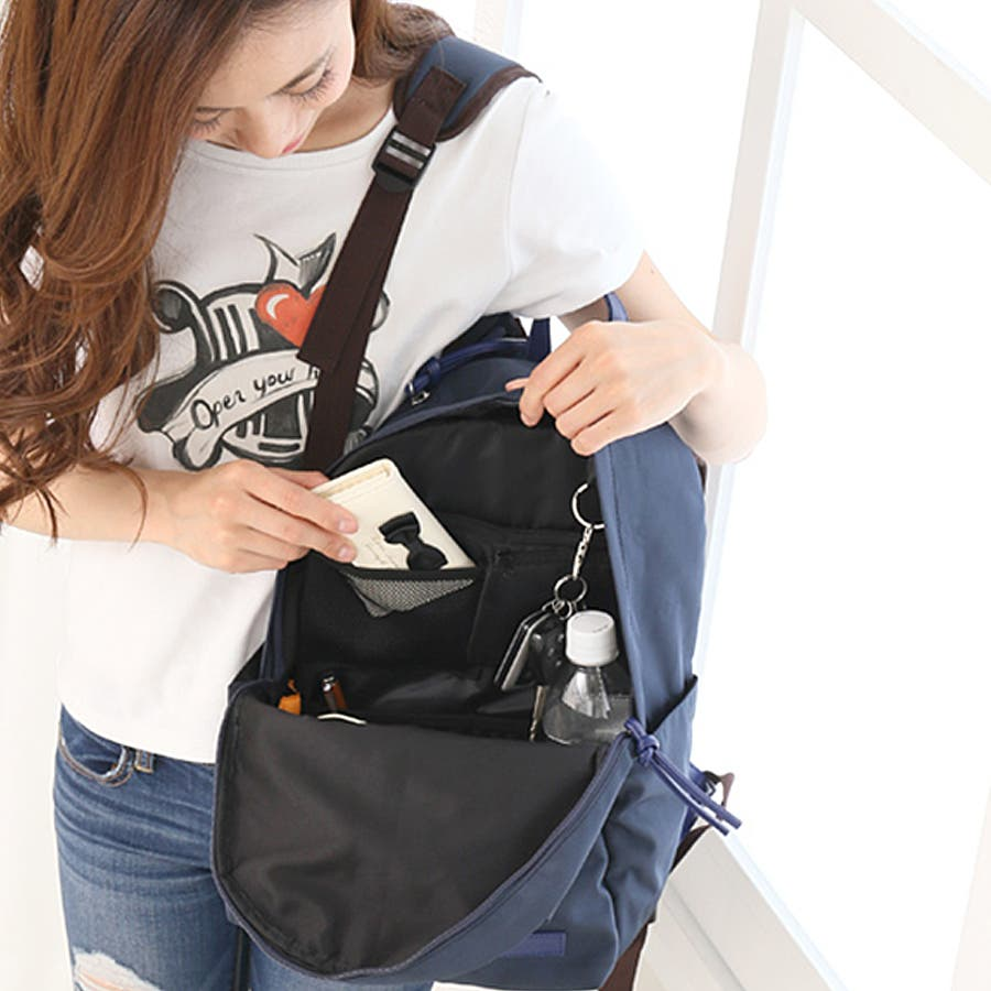 94727bffa09c リュックインバッグ 収納 整理 整頓 仕分け ポケット バッグインバッグ インナーバッグ リュックインナーバッグ
