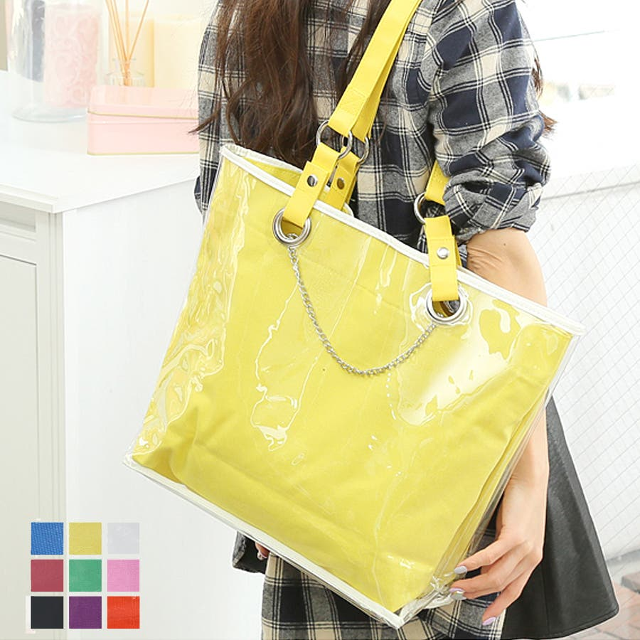 4d1a27be9d42 チェーン付きバッグinビニールカスタマイズバッグ(rs-bag-352)|詳細