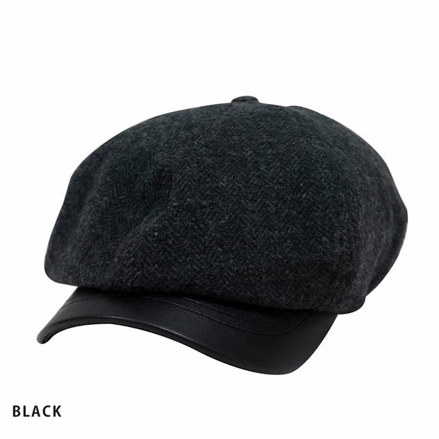 帽子 キャスケット メンズ レディース 秋冬 マリンキャスケット ウール 柄 お洒落 6