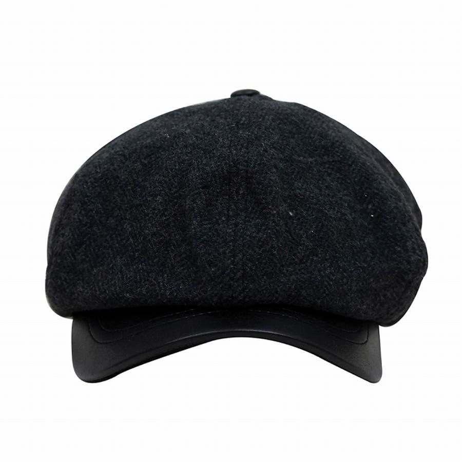 帽子 キャスケット メンズ レディース 秋冬 マリンキャスケット ウール 柄 お洒落 7