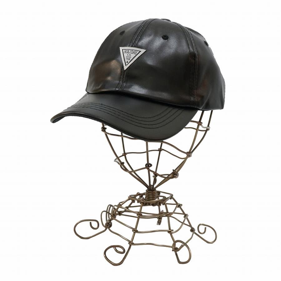 帽子 キャップ メンズ レディース 春秋冬 ベースボールキャップ 合成皮革 ワッペン 10