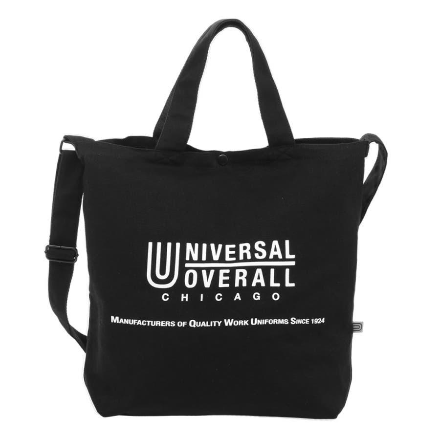UNIVERSAL OVERALL ユニバーサルオーバーオール トートバック ショルダーバック エコバッグ レディース メンズ 斜めがけバック 斜めがけ ワンショルダー 2way 2WAY ユニセックス 男女兼用 UVO-036 21