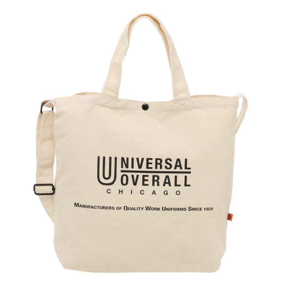 UNIVERSAL OVERALL ユニバーサルオーバーオール トートバック ショルダーバック エコバッグ レディース メンズ 斜めがけバック 斜めがけ ワンショルダー 2way 2WAY ユニセックス 男女兼用 UVO-036 16
