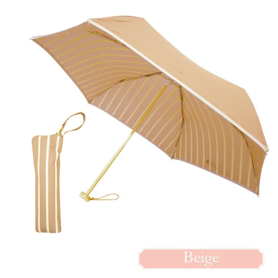 インストライプ折傘ピンクトリック 可愛い 傘 かさ 雨傘 日傘 晴雨兼用 折たたみ傘 レディース 親骨50cm(センチ) おしゃれUVカット グラスファイバー 軽量 コンパクト 収納 梅雨 大人 20代 30代 40代 7