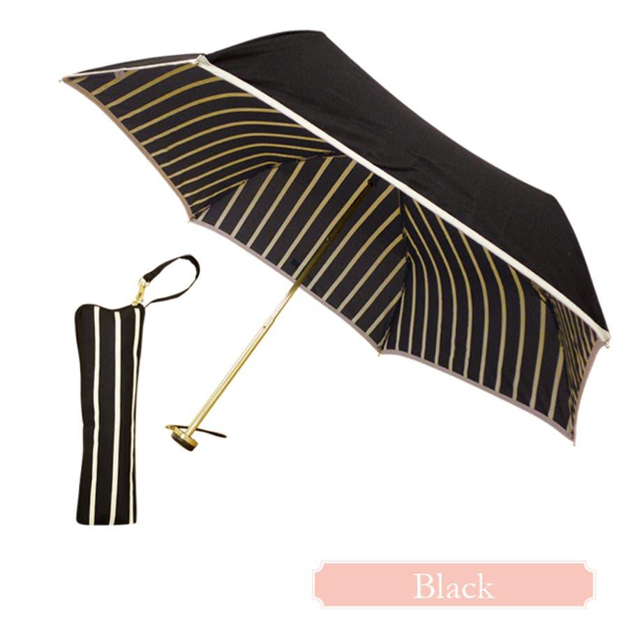インストライプ折傘ピンクトリック 可愛い 傘 かさ 雨傘 日傘 晴雨兼用 折たたみ傘 レディース 親骨50cm(センチ) おしゃれUVカット グラスファイバー 軽量 コンパクト 収納 梅雨 大人 20代 30代 40代 9