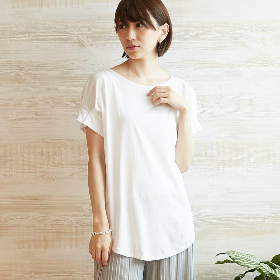コットンフレアスリーブTシャツ 16