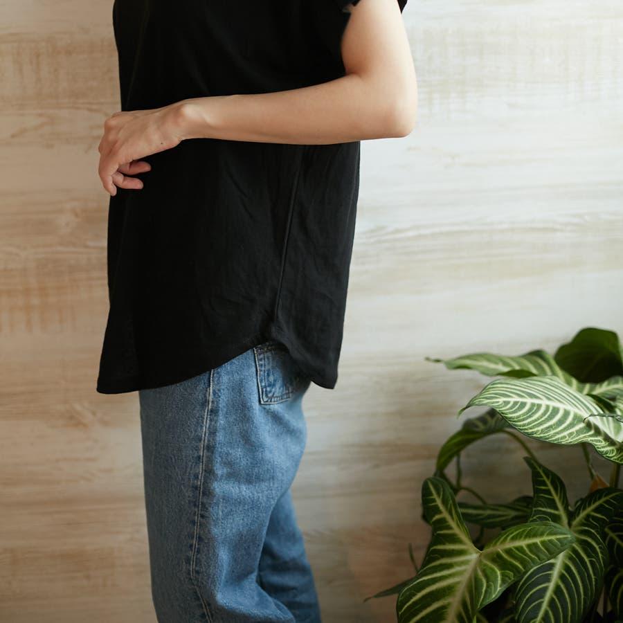 コットンフレアスリーブTシャツ 9