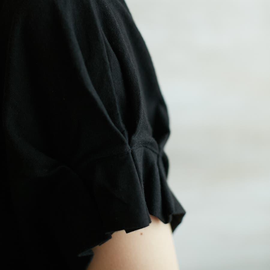 コットンフレアスリーブTシャツ 10
