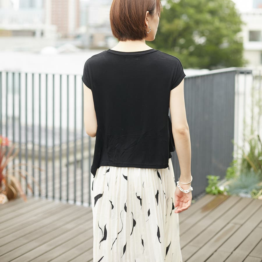 フレンチスリーブTシャツ 5