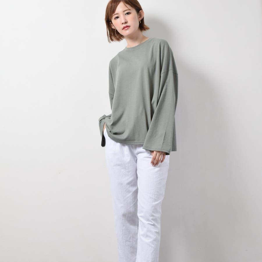 オーバーサイズロングTシャツ 10