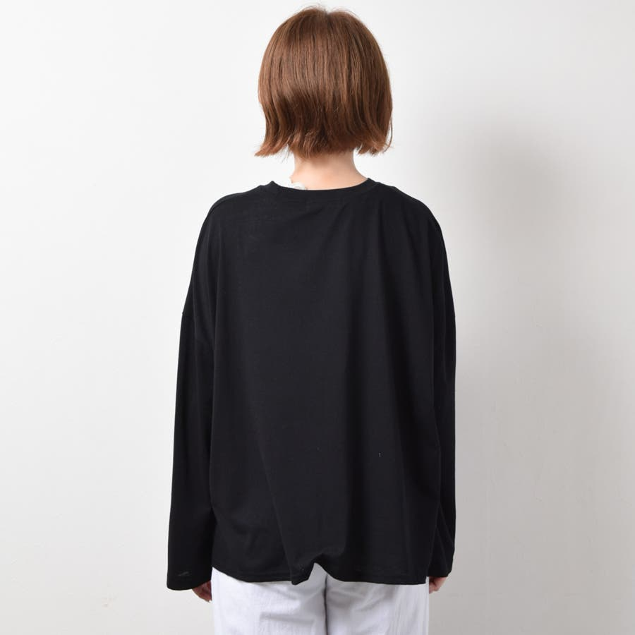 オーバーサイズロングTシャツ 6