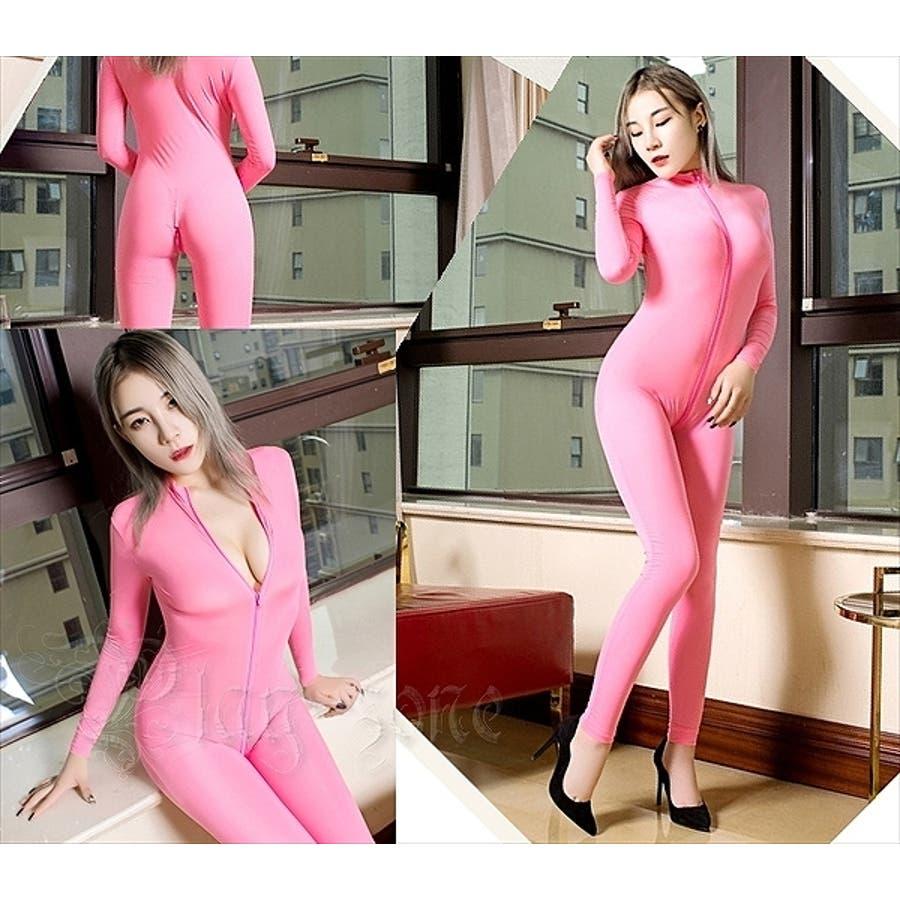 ボディストッキング 全身タイツ ボディスーツ セクシー コスチューム コスプレ 仮装 衣装 ボディコン ボディライン安いスパンデックス ジャンプスーツ 赤 黒 白 全7色 C157 9